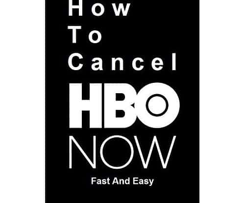 How to cancel HBO in less than a minute