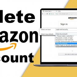 How to delete an Amazon account