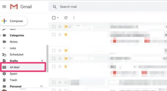 How to find your archive emails in Gmail