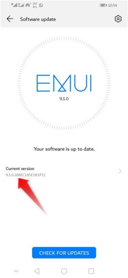 Download and Install the Update