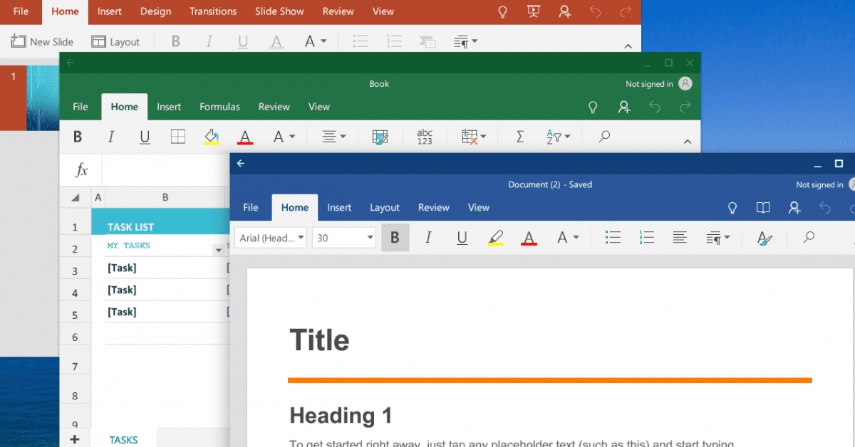 Run Microsoft Office on Chromebook