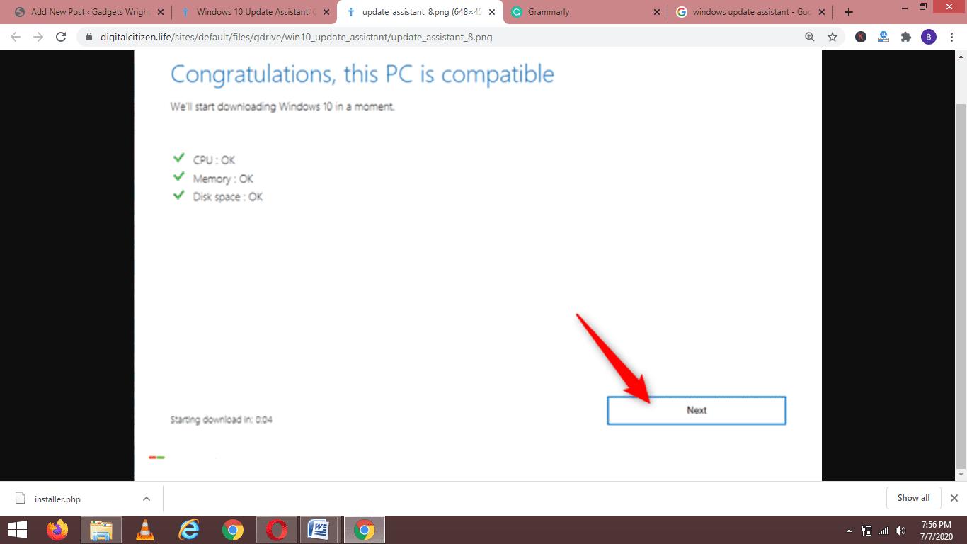 Windows Update Assistant