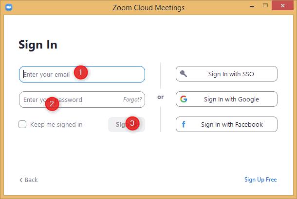 Zoom Cloud Meeting