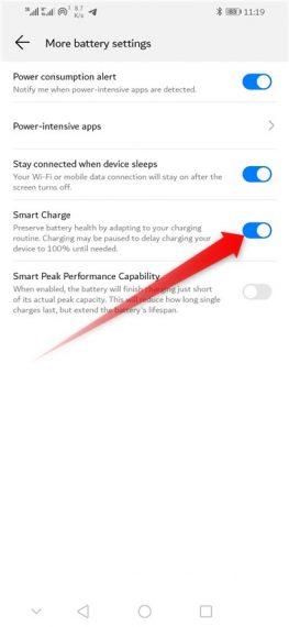 Huawei Smart Charge
