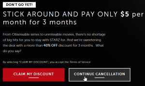 How to Cancel Starz