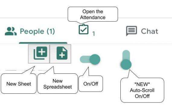Chrome extension for Google Meet Attendance