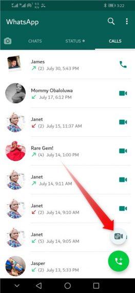 WhatsApp Support Room