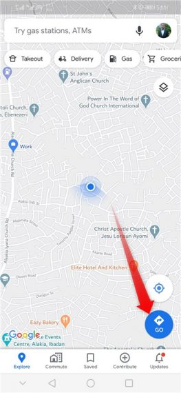 Google Maps Unable to Find Directions from Current Locations