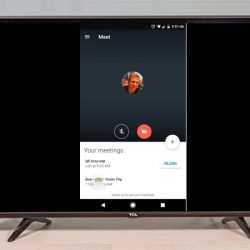 How To Get Google Meet Meeting On TV