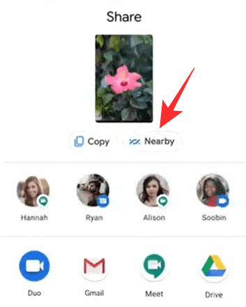 How To Share Files On Nearby Share On Android