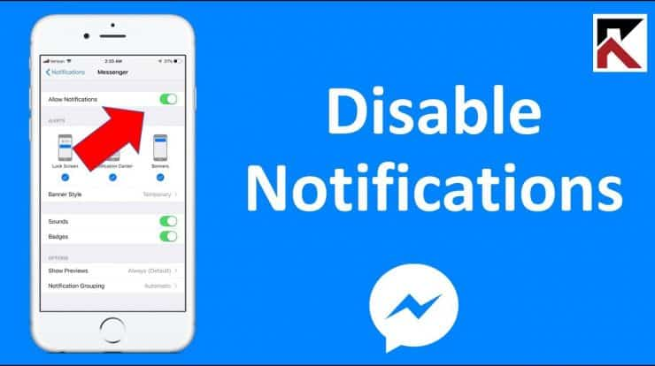 How To Stop Facebook Messenger Notifications
