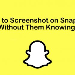 How To Take Screenshot On Snapchat Without Them Knowing