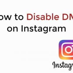 How to Turn off Instagram DMs