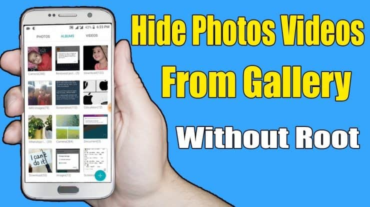 How to hide photos on your Android