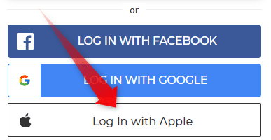 Log In With Apple
