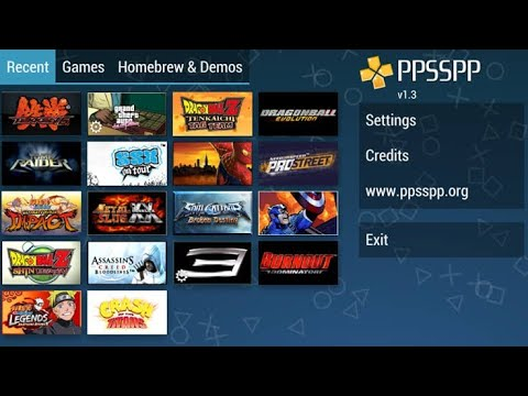 How to Change Language on PPSSPP