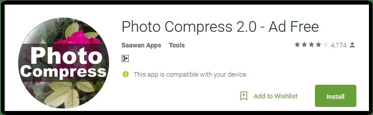 Photo Compress 2.0 - No Ads