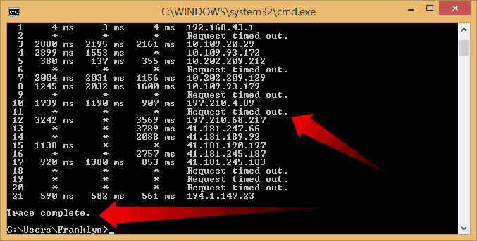 How to Run TraceRoute Command on Windows Mac Linux