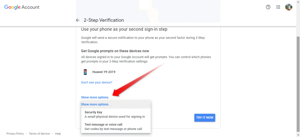 recover Google account with date of birth