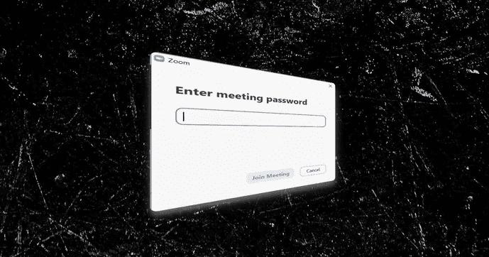 Enter Zoom Password