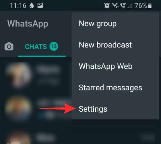 What does online mean on WhatsApp