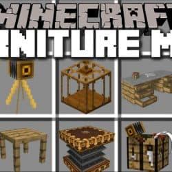 Download MrCrayfish's Furniture Mod