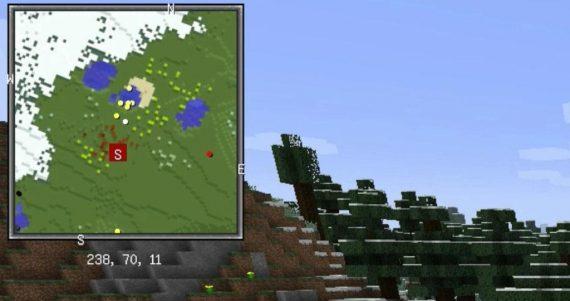 Install Xaero's Minimap in Minecraft