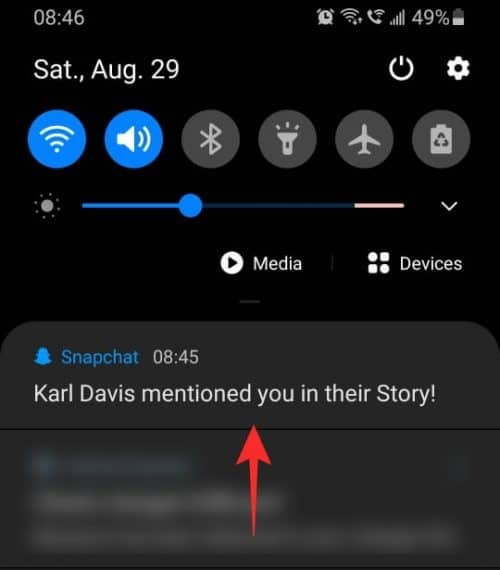 How To Mention Someone On Snapchat