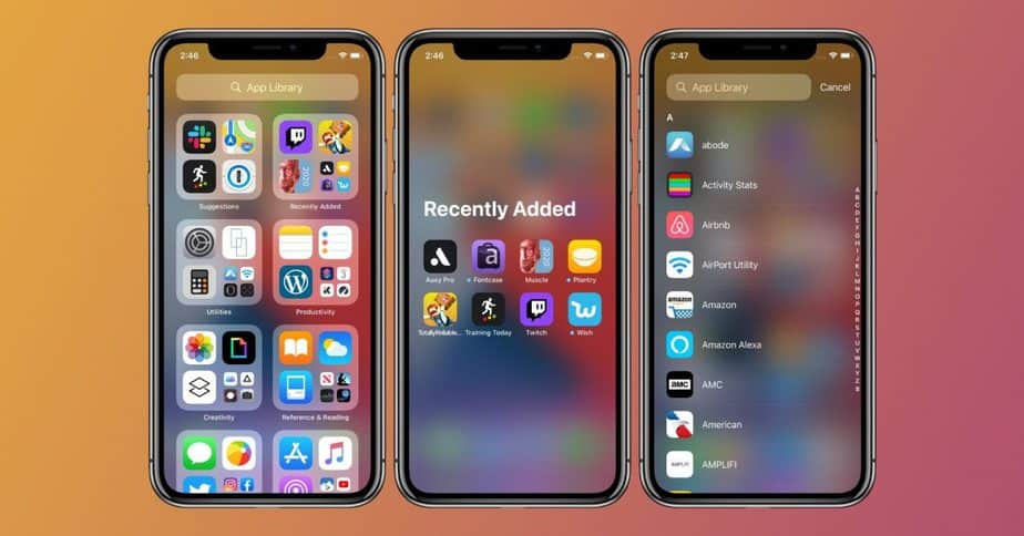 How to group Apps on iOS 14