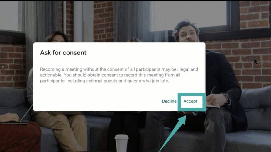 How to Record a Google Meet Video Meeting