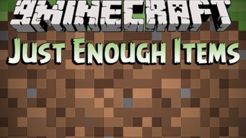 Install Just Enough Items in Minecraft