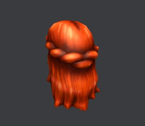 Belle Of Belfast Long Red Hair