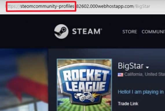 how to avoid Rocket League scams