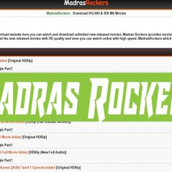 Madras Rockers 2020: Latest Free HD Movies Download