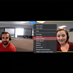 How to add a Co Host on Zoom