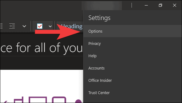 How to Enable Dark Mode in OneNote