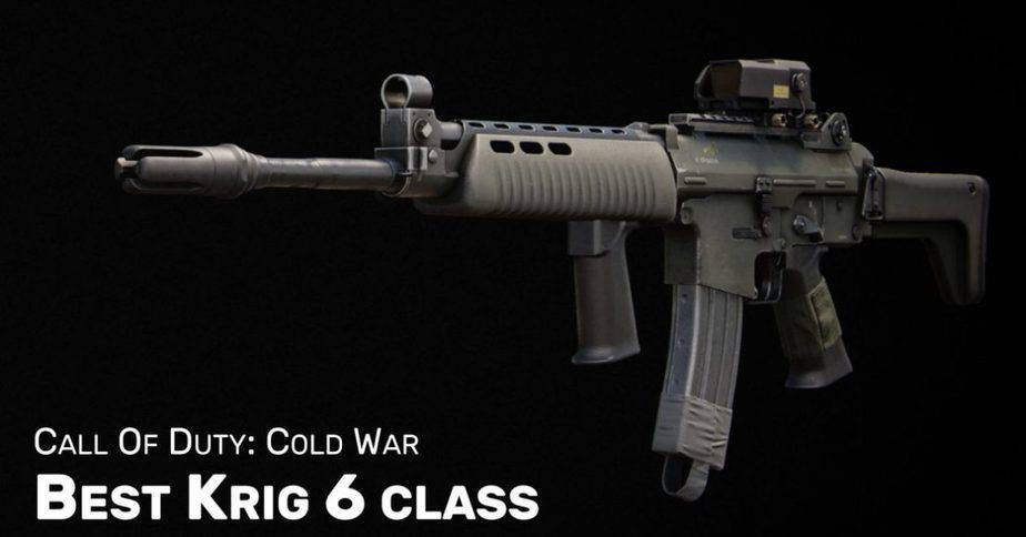 How to change Class in Cold War