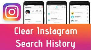 How to delete Instagram search history