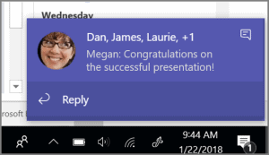 How to reply to a message in Microsoft Teams