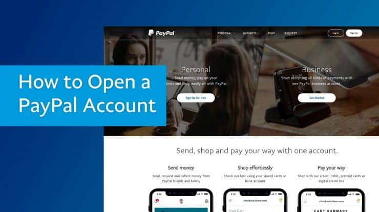 How to set up a PayPal Account