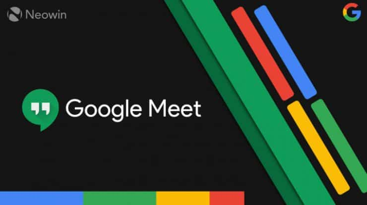 how to change background on Google Meet