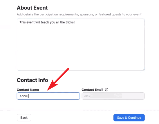 how to create and host an OnZoom event