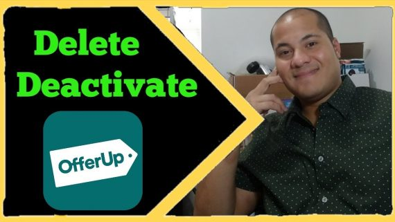How to delete Offerup Account