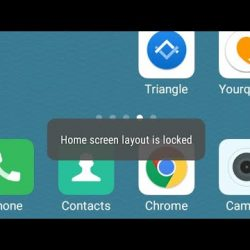 How to Unlock Home Screen Layout