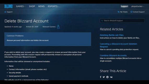 How to Delete Blizzard Account