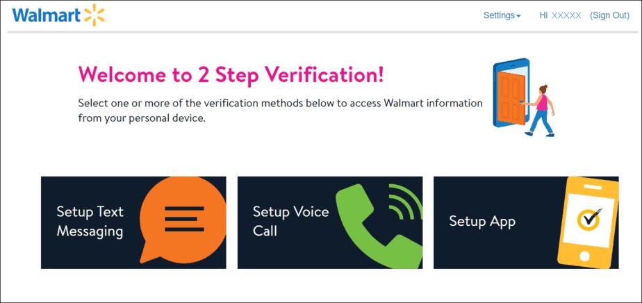WMLink 2Step verification