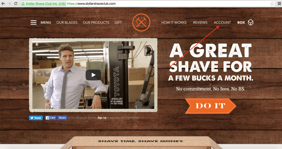 How to Cancel Dollar Shave Club Membership