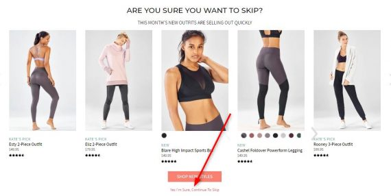 How to Skip a Month on Fabletics