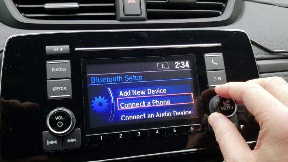 delete bluetooth device honda crv