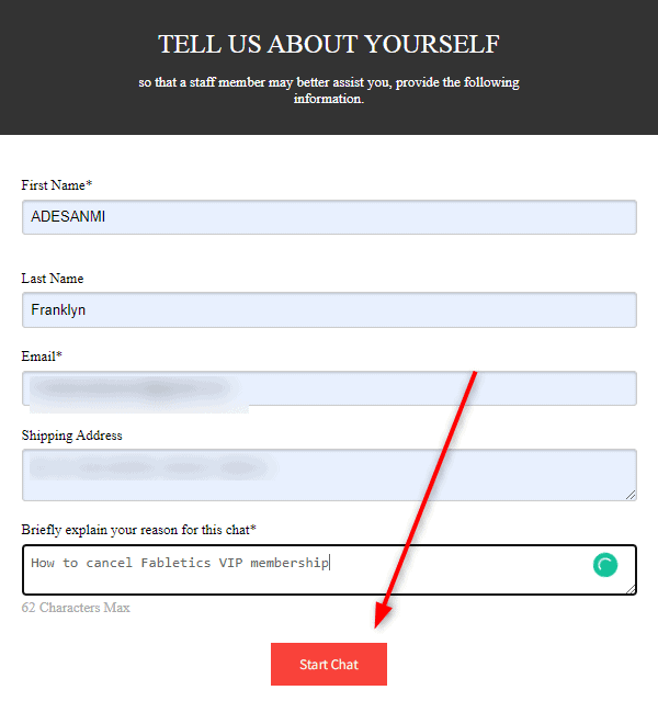 How to cancel Fabletics VIP membership